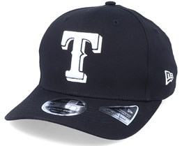 Hatstore Exclusive x Texas Rangers Essential 9Fifty Stretch Black Adjustable - New Era