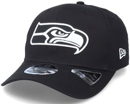 Hatstore Exclusive x Seattle Seahawks Essential 9Fifty Stretch Black Adjustable - New Era