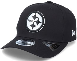 Hatstore Exclusive x Pittsburgh Steelers Essential 9Fifty Stretch Black Adjustable - New Era