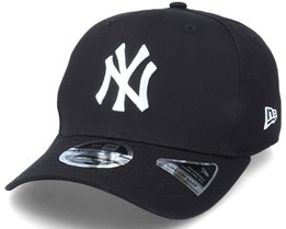 Hatstore Exclusive x New York Yankees Essential 9Fifty Stretch Black Adjustable - New Era