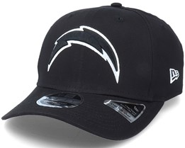 Hatstore Exlusive x Los Angeles Chargers Essential 9Fifty Stretch Black Adjustable - New Era