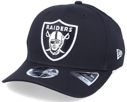 Hatstore Exclusive x Las Vegas Raiders Essential 9Fifty Stretch Black Adjustable - New Era
