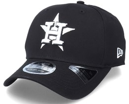 Hatstore Exclusive x Houston Astros Essential 9Fifty Stretch Black Adjustable - New Era
