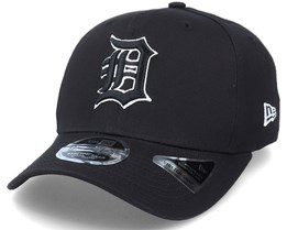 Hatstore Exclusive x Detroit Tigers Essential 9Fifty Stretch Black Adjustable - New Era