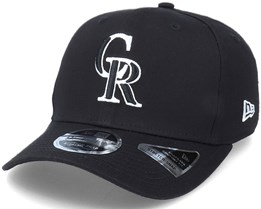 Hatstore Exclusive x Colorado Rockies Essential 9Fifty Stretch Black Adjustable - New Era