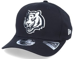 Hatstore Exclusive x Cincinnati Bengals Essential 9Fifty Stretch Black Adjustable - New Era