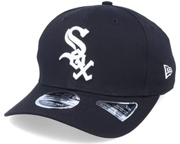Hatstore Exclusive x Chicago White Sox Essential 9Fifty Stretch Black Adjustable - New Era