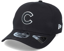 Hatstore Exclusive x Chicago Cubs Essential 9Fifty Stretch Black Adjustable - New Era
