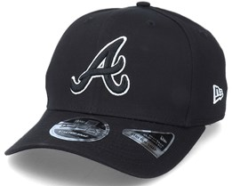 Hatstore Exclusive x Atlanta Braves Essential 9Fifty Stretch Black Adjustable - New Era