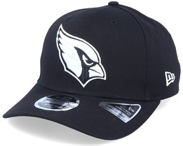 Hatstore Exclusive x Arizona Cardinals Essential 9Fifty Stretch Black Adjustable - New Era