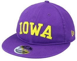 Iowa Team Heritage 9Fifty Purple Strapback - New Era
