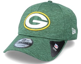 Green Bay Packers Shadow Tech 9Forty Heather Green Adjustable - New Era