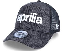 Aprilia Engineered Fit Wordmark 9Forty A-Frame Black Adjustable - New Era