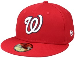 Washington NationalsAuthentic On-Field59Fifty Red Fitted - New Era