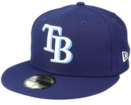 Tampa Bay Rays Authentic On-Field 59Fifty Navy Fitted - New Era
