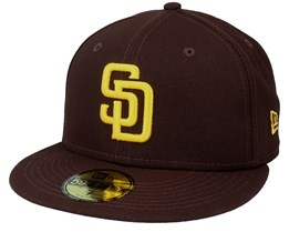 San Diego Padres Authentic On-Field 59Fifty Brown/Yellow Fitted - New Era