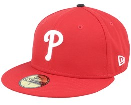 Philadelphia Phillies Authentic On-Field 59Fifty Red Fitted - New Era