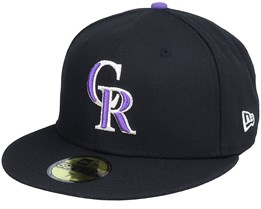 Colorado Rockies Authentic On-Field 59Fifty Black Fitted - New Era