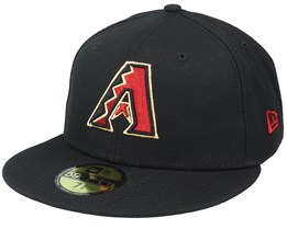 Arizona Diamondbacks Authentic On-Field 59Fifty Black Fitted - New Era