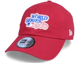 Philadelphia Phillies World Series 9Twenty Scarlet Dad Cap - New Era