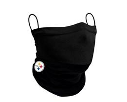 Pittsburgh Steelers 1-Pack Black Neck Gaiter - New Era