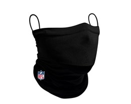 NFL 1-Pack Black Neck Gaiter - New Era