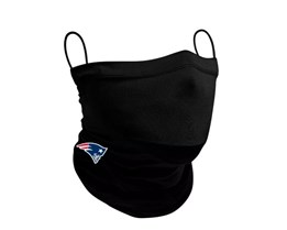 New England Patriots 1-Pack Black Neck Gaiter - New Era