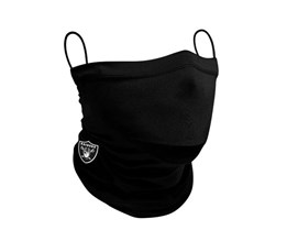 Las Vegas Raiders 1-Pack Black Neck Gaiter - New Era