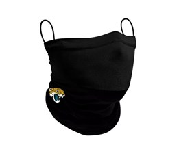 Jacksonville Jaguars 1-Pack Black Neck Gaiter - New Era