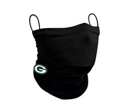 Green Bay Packers 1-Pack Black Neck Gaiter - New Era