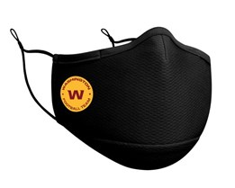Washington Football Team 1-Pack Black Face Mask - New Era