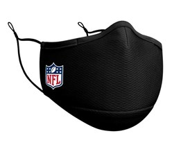 NFL 1-Pack Black Face Mask - New Era