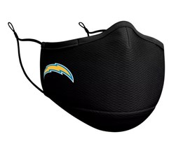 Los Angeles Chargers 1-Pack Black Face Mask - New Era