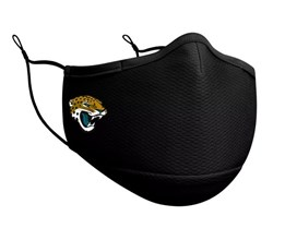 Jacksonville Jaguars 1-Pack Black Face Mask - New Era