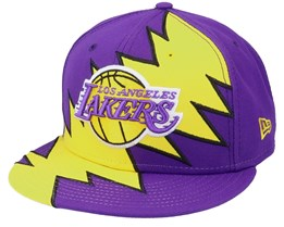 LA Lakers 9Fifty All-Star Game Tear Purple/Yellow Snapback - New Era