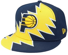 Indiana Pacers 9Fifty All-Star Game Tear Navy/Yellow Snapback - New Era