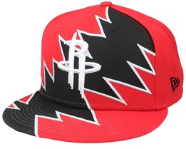 Houston Rockets 9Fifty All-Star Game Tear Red/Black Snapback - New Era