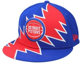 Detroit Pistons 9Fifty All-Star Game Tear Blue/Red Snapback - New Era