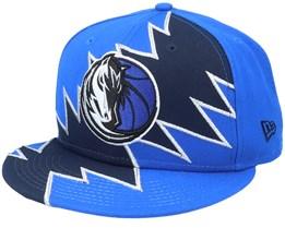 Dallas Mavericks 9Fifty All-Star Game Tear Blue/Black Snapback - New Era