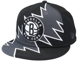 Brooklyn Nets 9Fifty All-Star Game Tear Black/Grey Snapback - New Era
