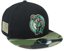 Boston Celtics 9Fifty All-Star Game Camo Black Snapback - New Era