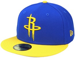Houston Rockets 59Fifty All-Star Game Colorpack Blue/Yellow Snapback - New Era