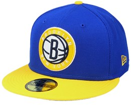 Brooklyn Nets 59Fifty All-Star Game Colorpack Blue/Yellow Snapback - New Era