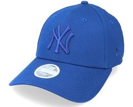 New York Yankees Womens Tonal 9FORTY Blue/Blue Adjustable - New Era