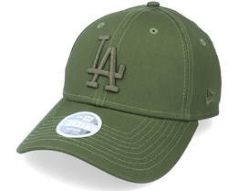 Los Angeles Dodgers Womens Tonal 9FORTY Rifle Green Adjustable - New Era