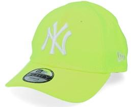 Kids New York Yankees Toddler Neon Pack 9FORTY Neon Yellow/White Adjustable - New Era