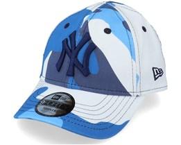 Kids New York Yankees Toddler Camo Pack 9FORTY Navy Camo Adjustable - New Era