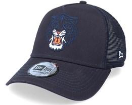 Detroit Tigers Team Elemental Navy Trucker - New Era