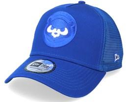 Chicago Cubs Team Elemental Blue Trucker - New Era