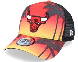 Chicago Bulls Summer City Multi Trucker - New Era